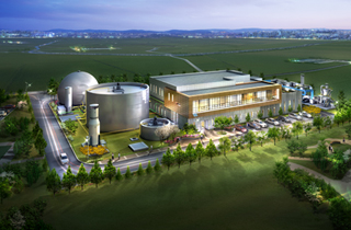 Organic waste resource energy production facility in Chungju  1